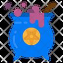 Cauldron Scary Halloween Icon