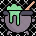 Cauldron Pot Halloween Icon