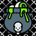 Cauldron Witch Pot Icon