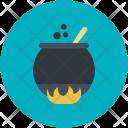 Cauldron Poison Metal Icon