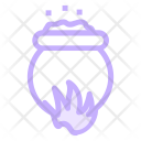 Cauldron Witch Cooking Icon
