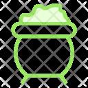 Cauldron Halloween Icon