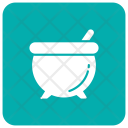 Cauldron Halloween Mixing Icon