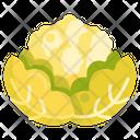 Cauliflower Broccoli Vegetable Icon