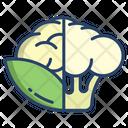 Cauliflower Vegetarian Vegetable Icon
