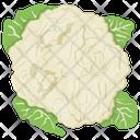 Cauliflower Healthiest Vegetable Icon