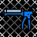Caulk Gun Construction Icon