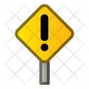 Caution Sign Construction Icon