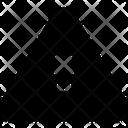Caution Access Icon