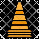 Caution Cone Icon