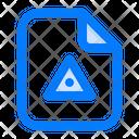 Caution File Icon