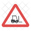 Caution Forklift Icon