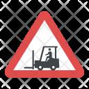 Caution Forklift Icon