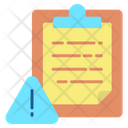 Caution Notes Document Caution Notes Notes Icon