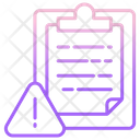 Caution Notes Icon