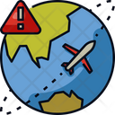 Cautious Travel Icon