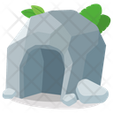 Cave Rocks Mountain Icon