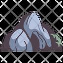 Cave Stone Dark Icon