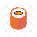 Caviar Sushi Roll Icon