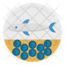 Caviar Eggs Food Icon