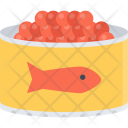 Caviar Fish Food Icon