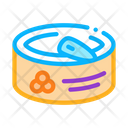 Tin Food Caviar Icon