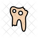 Cavity Teeth Broken Icon