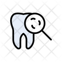 Cavity Germs Teeth Icon