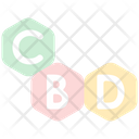 Cbd Cannabis Cannabidiol Icon
