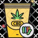 Mcbd Gummies Cbd Gummies Cannabis Icon