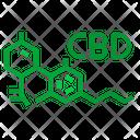 Cbd Molecules Cbd Molecules Icon
