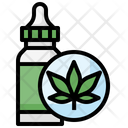 Cbd Cbd Oil Essential Oil Icon