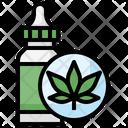 Cbd Oil Cbd Cannabidiol Oil Icon