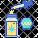 Cbd Oil Drug Oil Icon