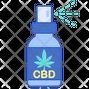 Cbd Spray Spray Medicine Icon