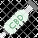 Cbd Syringe Icon