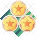 Flower Egg Yolk Tart Icon