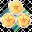 Flower Egg Yolk Tart Icon