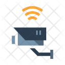 Wireless Cctv Safety Icon