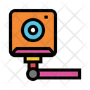 Camera Video Security Icon