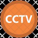 Cctv Sign Surveillance Icon