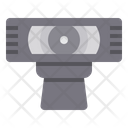 Cctv Video Secure Icon