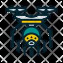 Cctv Drone Icon