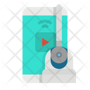 Cctv Mobile Remote Icon