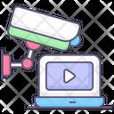 Online Video Cctv Camera Video Icon