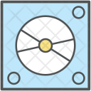 Cd Player Envelope Icon