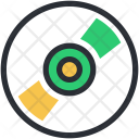 Cd Disk Compact Icon