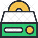 Cd Drive Player Icon