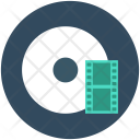 Cd Movie Reel Icon