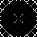 Cd Circle Compact Disk Icon